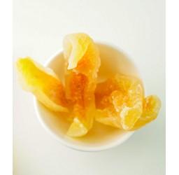 Getrocknete Melonenstreifen