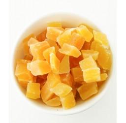 Getrocknete Mango-Würfel